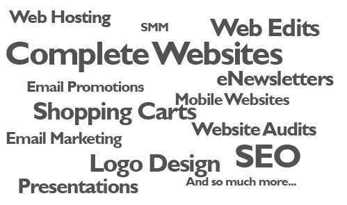 words web design wagga